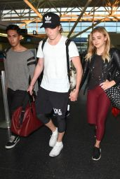 Chloë Grace Moretz at JFK Airport in New York 6/29/2016