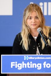Chloë Grace Moretz - Garden Grove Get Out the Vote Event in Westminster, CA 6/3/2016
