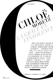 Chloë Moretz - Madame Figaro Magazine  June 2016 Issue