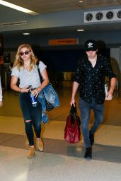 Chloe Moretz at JFK Airport in New York City 6/27/2016