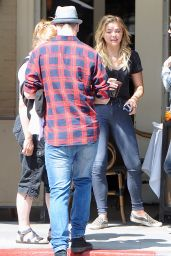 Chloe Moretz Casual Style - Out in Beverly Hills 6/15/2016