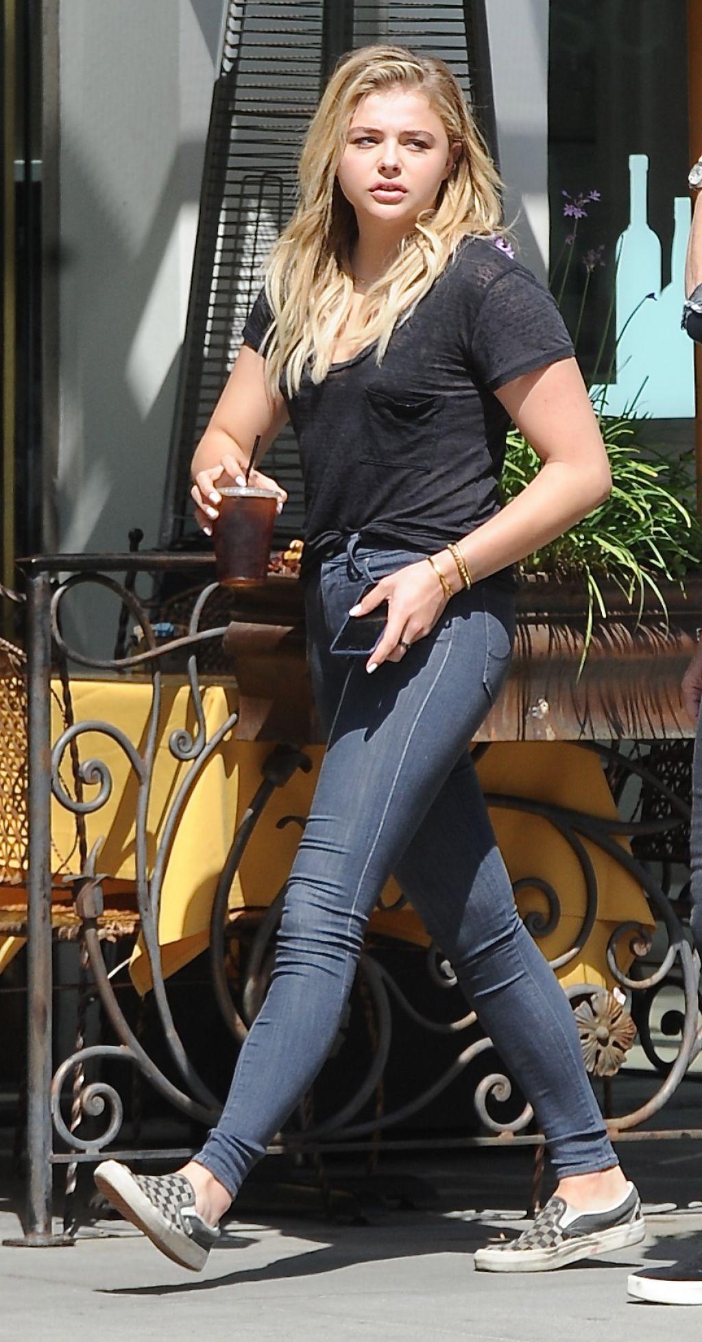 Chloe Moretz Street Style - Out in NYC 5/7/2016 • CelebMafia
