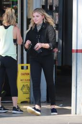 Chloe Moretz - Goes to a Car Wash in West Hollywood 6/2/2016