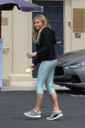 Chloe Moretz in Leggings - Out in Los Angeles 6/7/2016