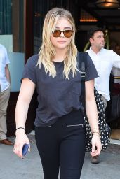 Chloe Moretz - Leaving Her Hotel in New York 6/24/2016