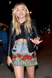 Chloe Moretz – Leaving Hillary Clinton's Fundraiser in Los Angeles 6/6/2016