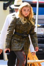 Chloe Moretz - Photoshoot in NYC 6/29/2016