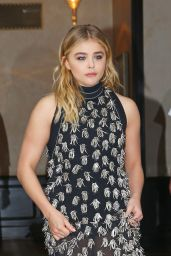 Chloe Moretz Style - Leaving Her Hotel in New York City 06/23/2016
