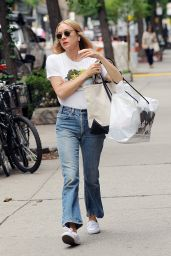 Chloe Sevigny in Jeans - Out in NYC, June 2016