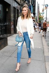 Chrissy Teigen - Stops for a Quick Bite in New York City 6/7/2016