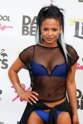 Christina Milian in a Bikini - GO Pool at the Flamingo in Las Vegas 6/11/2016