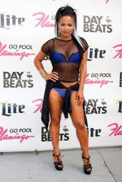Christina Milian in a Bikini - GO Pool at the Flamingo in Las Vegas 6/11/2016