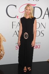 Claire Danes – CFDA Fashion Awards in Hammerstein Ballroom, New York City 6/6/2016