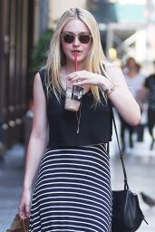 Dakota Fanning - Out in New York City 6/6/2016