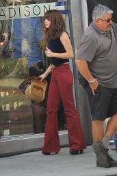 Danielle Panabaker - Films Her Show in Beverly Hills 6/20/2016