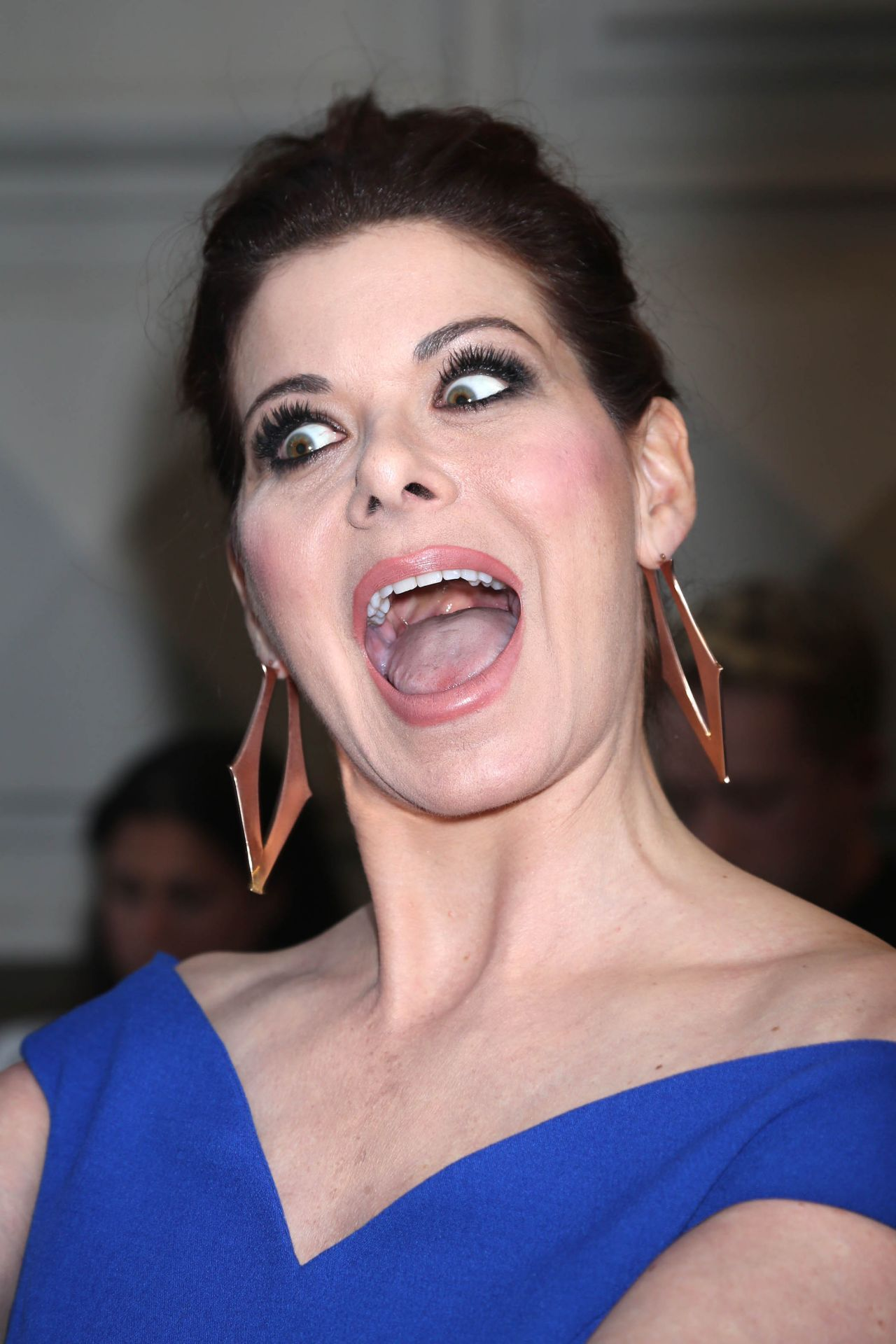 Debra Messing Act Of God Opening Night In New York