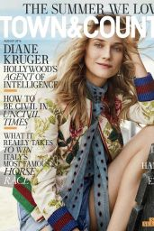 Diane Kruger - Town & Country Magazine August 2016 Photos and Cover