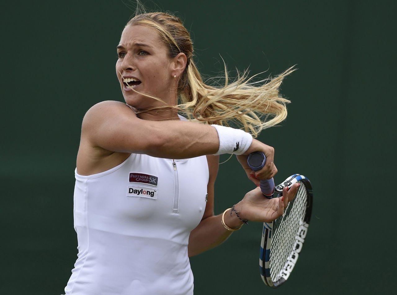 Dominika Cibulkova Wimbledon Tennis Championships 2016