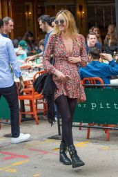 Doutzen Kroes and Candice Swanepoel - Out for Lunch at Bar Pitty in New York City 6/5/2016
