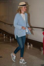 Elizabeth Banks at LAX Airport in LA 6/8/2016