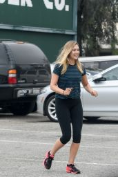 Elizabeth Olsen at a Gym in West Hollywood 6/27/2016