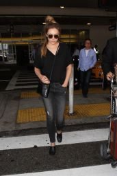 Elizabeth Olsen at LAX Airport in LA 6/7/2016