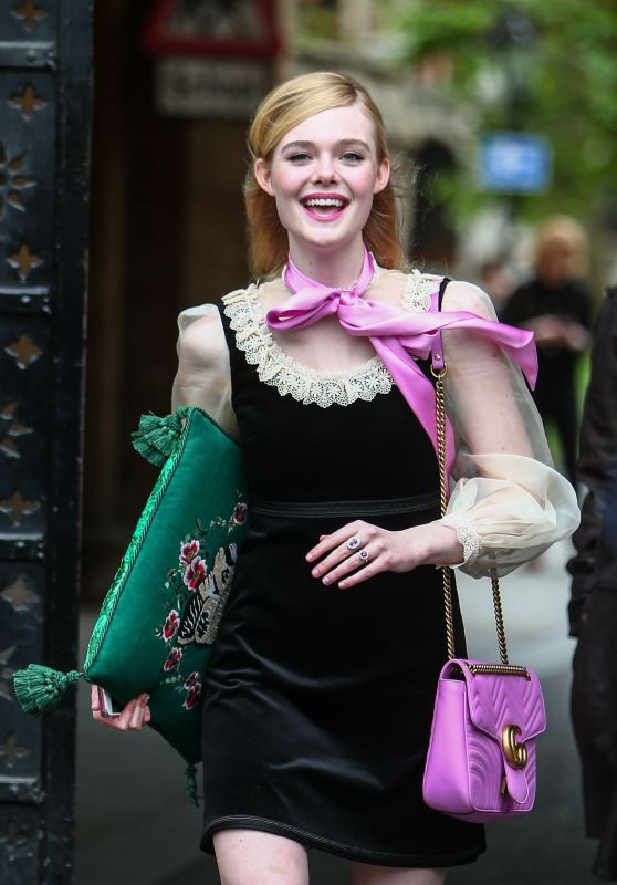 Elle Fanning - 2017 Gucci Cruise Fashion Show in London, June 2016