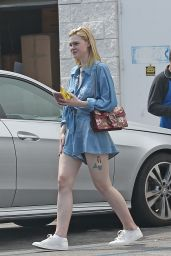 Elle Fanning - Out in LA 6/28/2016