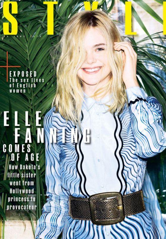 Elle Fanning - Sunday Times Style Magazine, June 26, 2016