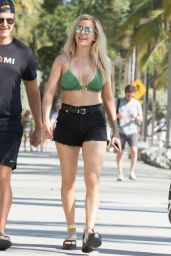 Ellie Goulding in a Bikini Top - Miami, FL  6/27/2016