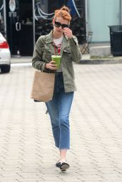 Emma Roberts Urban Style - Out in Beverly Hills 6/9/2016