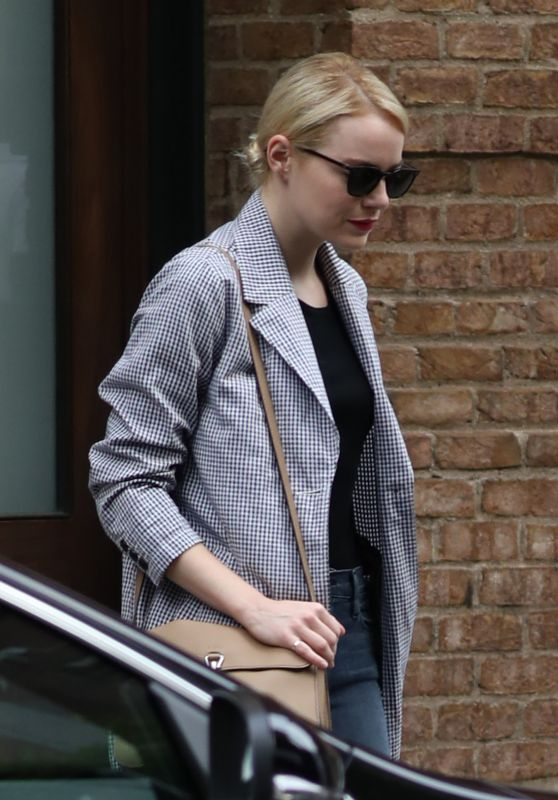 Emma Stone Out in New York City, June 2016