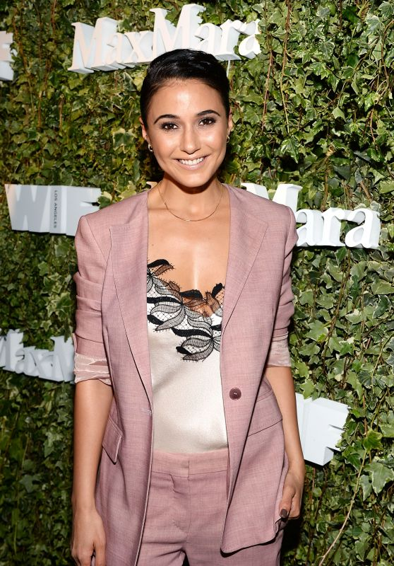 Emmanuelle Chriqui – The 2016 Women in Film Max Mara Face of the Future in Los Angeles 6/14/2016