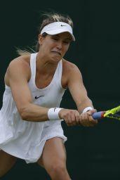 Eugenie Bouchard – Wimbledon Tennis Championships 2016 – 1st Round 6/28/2016