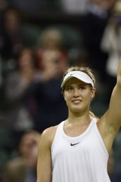Eugenie Bouchard - Wimbledon Tennis Championships in London  1st round 6/29/2016