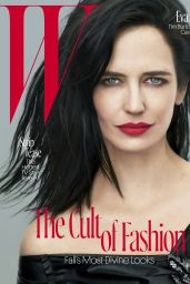 Eva Green - W Magazine August 2016 Cover and Photos