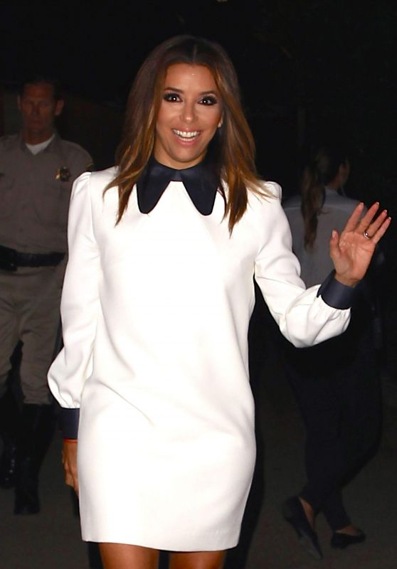Eva Longoria – Leaving Hillary Clinton's Fundraiser in Los Angeles 6/6/2016