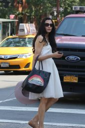 Famke Janssen - Out in New York City 6/26/2016
