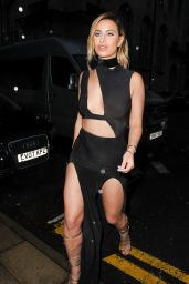 Ferne McCann Night Out Style - Outside the Rosso Club in Manchester, May 2016