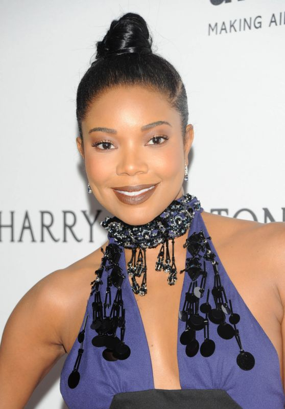 Gabrielle Union - 2016 amfAR Inspiration Gala in New York City