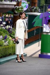 Gemma Arterton - Wimbledon Tennis Championships in London 6/29/2016