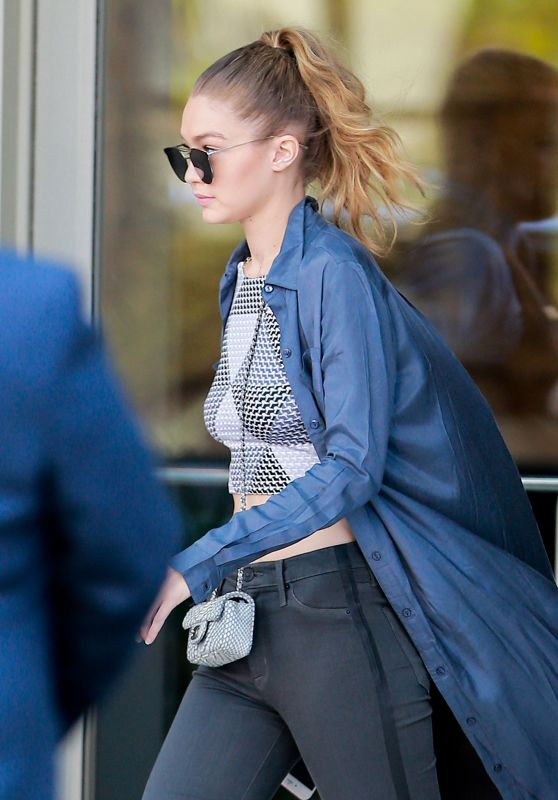 Gigi Hadid - Out in LA 6/2/2016