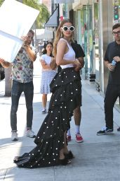 Gigi Hadid  - Photoshoot Set in West Hollywood 6/29/2016