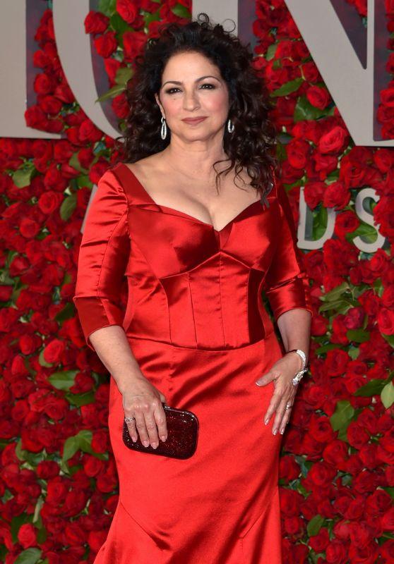Gloria Estefan - Tony Awards 2016 in New York City