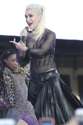 Gwen Stefani Performs a Free Concert at Samsung 837, New York City 6/2/2016