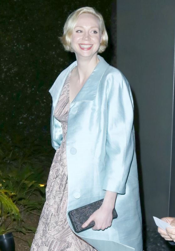 Gwendoline Christie - Out for a Movie Night at the Arclight Hollywood, June 2016