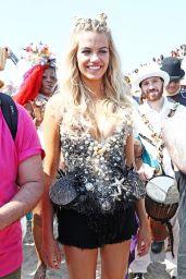 Hailey Clauson – Mermaid Parade in Coney Island 6/18/2016