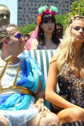 Hailey Clauson – Mermaid Parade in Coney Island 6/18/2016