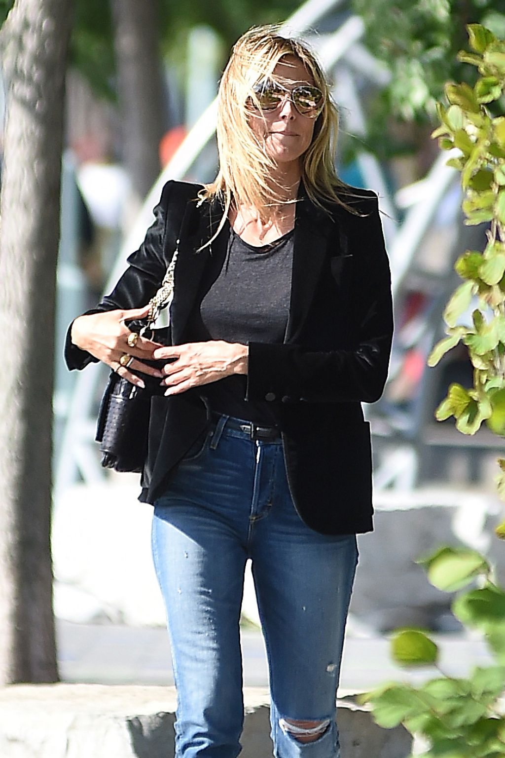Heidi Klum Enjoys Some Time With Her Kids At The