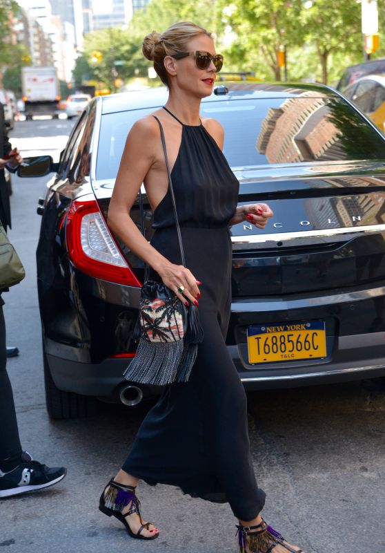 Heidi Klum - Out in Tribeca in NYC 6/22/2016